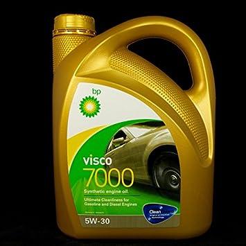 Aceite de motor 5W30 BP espuma 7000 Bote de 4 litros: Amazon.es ...