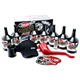 Red Line 90226 Big Twin 20w50 Power Pack Oil Package with K&N High Performance Oil Filter KN-171B