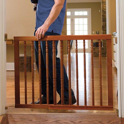 Beautiful Amazon.com : Classic Wood Safety Gate DARK OAK : Indoor Safety Gates : Baby