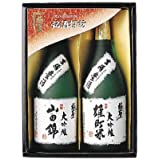 宮下酒造 極聖 大吟醸山田錦・大吟醸雄町米2本セット MYO52