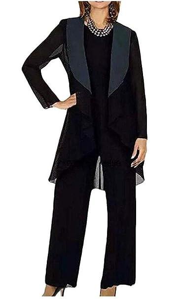 Amazon.com: Traje de gasa para mujer, traje de noche, traje ...