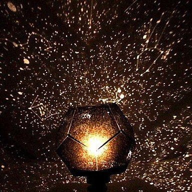 FAGL Light DIY Romantic Galaxy Starry Sky Projector Night  Light+Constellation Manual , Multi Color