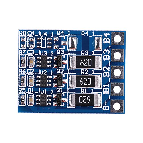 3Series 18650 Li-ion lithium Battery Charging Balance Module BMS Equilibrium Board 11.1V ()