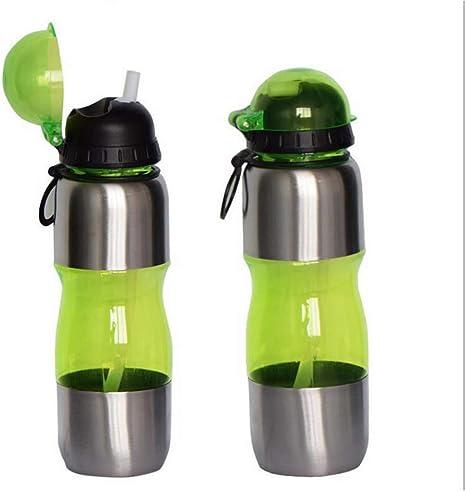 NKSGLM Botella Botella de Bicicleta de Deportes 650 ml plástico ...