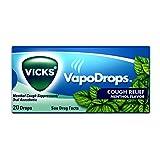 Vicks VapoDrops Cough Drops, Menthol, 20 ct (Pack of 20)
