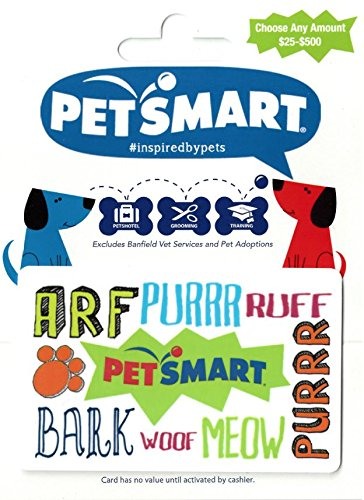 Where to buy petsmart gift cards