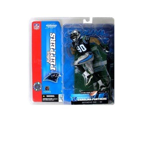 Julius Peppers #90 Blue Jersey Uniform Carolina Panthers McFarlane NFL