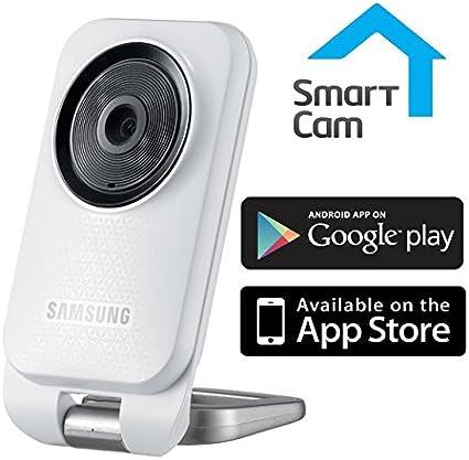 Samsung SNH-V6110BN SmartCam HD 1080p Mini cámara de Interior Bidireccional Talk Motion Detección de Audio WiFi Smartcam App para bebés/Ancianos, monitorización General y de Seguridad: Amazon.es: Electrónica