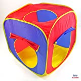 Pop Up 3-Piece Play Tent Set for Children - Kids Play Tents with Tunnel for Indoor & Outdoor Use - New & Improved Design
