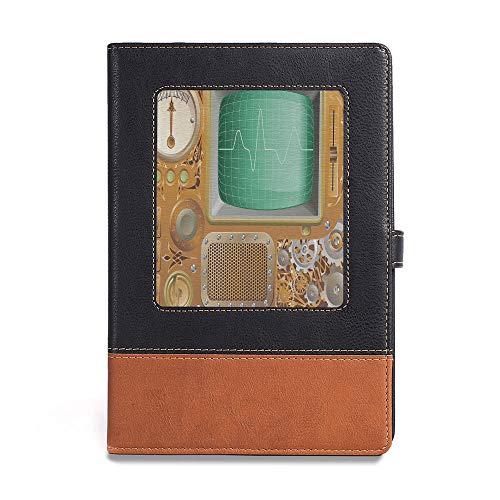 Thick Notebook,Copper Decor,A5(6.1
