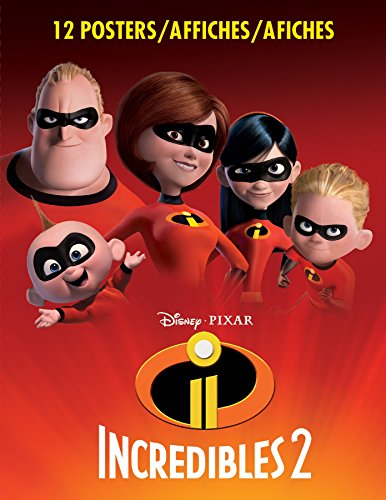 Trends International Book-Incredibles 2 Wall Poster, Multicolor
