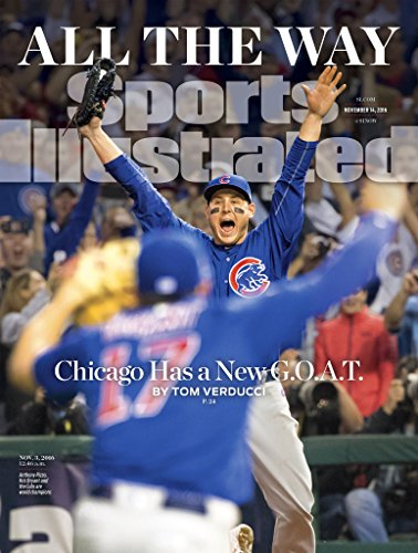 Sports Illustrated Magazine (November 14, 2016) World Series Winners Chicago Cubs