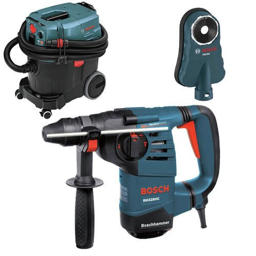 Bosch RH328VC-OSHA 1-1/8 in. SDS-plus Rotary Hammer with Dust Collection System