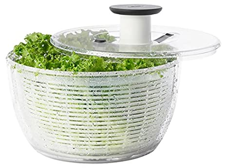 Image result for push button salad spinner