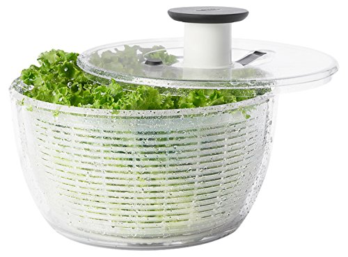 OXO Good Grips Salad Spinner, Large, - Safe Spinner Salad Dishwasher