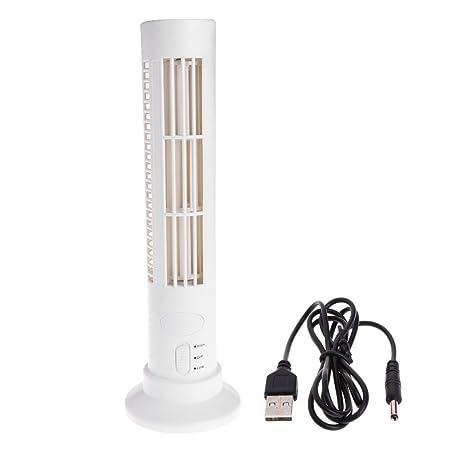 kalttoy aire acondicionado sin hoja portátil de refrigeración de ventilador de torre de USB Mini para