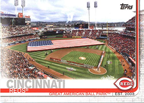 2019 TOPPS #691 GREAT AMERICAN BALL PARK REDS BASEBALL