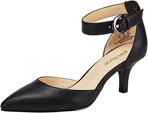 New Women D/'orsay Pointy Toe Ankle Strap Dress Party Stiletto Heel Pumps Update