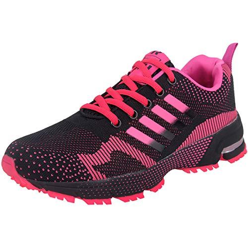 a Zapatillas Zapatos Libre Monta En De Deportes Aire Running Para Asfalto Mujer Rosa Para Correr Wealsex wqRvAcXX