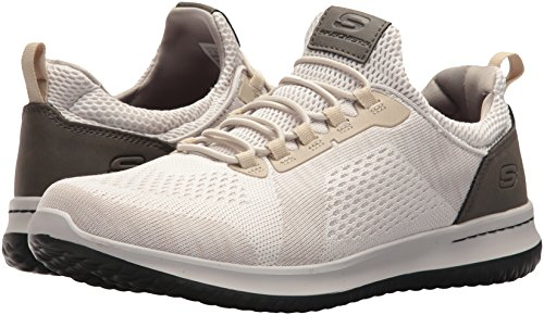 Men's USA Brewton Skechers US M Sneaker 8 Delson Fit Relaxed Taupe Men's O5YYn1dxq