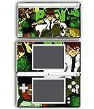 Ben Ten 10 Ultimate Alien Omnitrix Cartoon Video Game Vinyl Decal Skin Sticker Cover for Nintendo DS Lite System