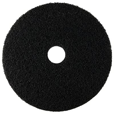 "Scrubble 72-17 Type 72, Stripping Floor Pad, 17"", Black (Pack of 5)"
