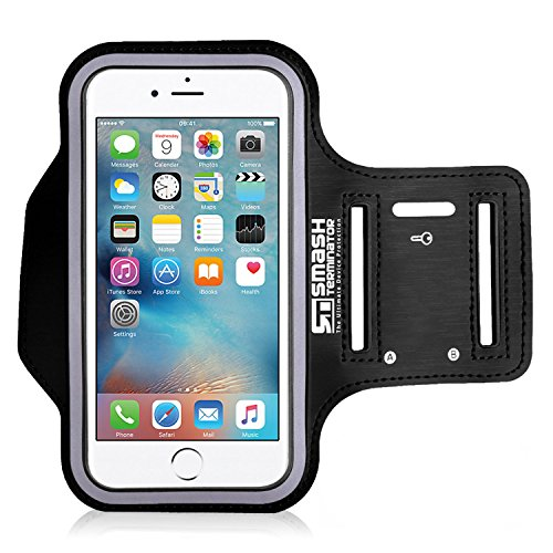 AllThingsAccessory¨ Adjustable Neoprene Sports Running Jogging Gym Armband Arm Band Case Cover Holder For Apple