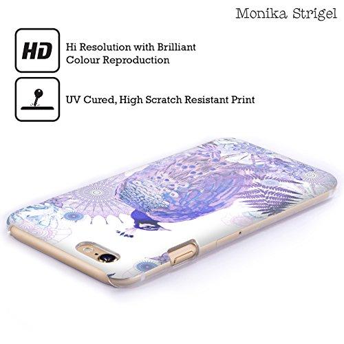 Officiel Monika Strigel Lavander Paon Tropical Étui Coque D'Arrière Rigide Pour Apple iPhone 5 / 5s / SE