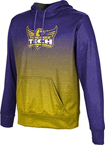 ProSphere Tennessee Technological University Boys' Pullover Hoodie, School Spirit Sweatshirt (Ombre) - Technological University Tennessee