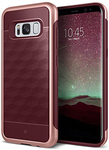 Cheap Cases Galaxy S8 Case, Caseology [Parallax Series] Slim Dual Layer Protective Textured Geometric..