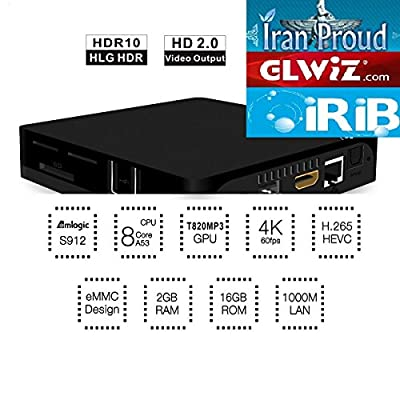 Amazon com: Persian TV Receiver GLWiZ IranProud IRIB Manoto GEM