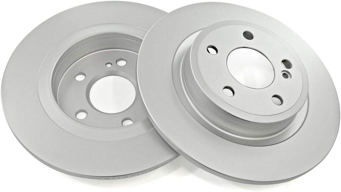 2x Meyle Bremsscheiben /ø295mm Set Hinten