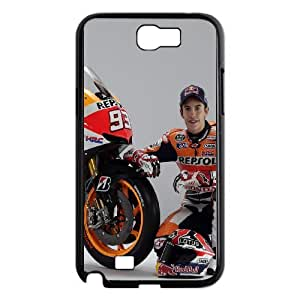 Samsung Galaxy Note 2 N7100 Phone Case Printed With Marc Marquez Images