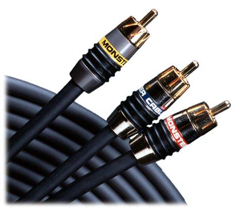 Monster Cable MV2AV25-4M Monster Video 2/Interlink 250 A/V Connection Kit (RCA) 4 m. set (13.12 ft.) (Discontinued by Manufacturer)