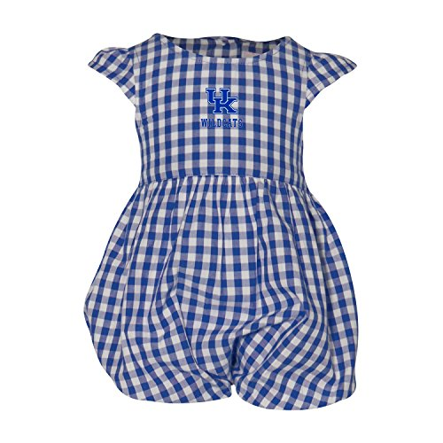 University of Kentucky Gigi Gingham Infant Dress Bubble