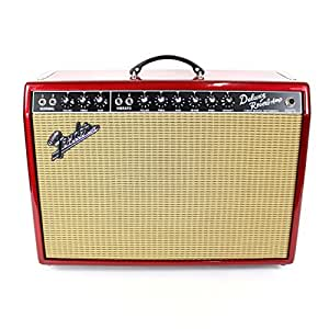 fender fsr 39 65 deluxe reverb guitar amplifier combo amp pink paisley musical. Black Bedroom Furniture Sets. Home Design Ideas