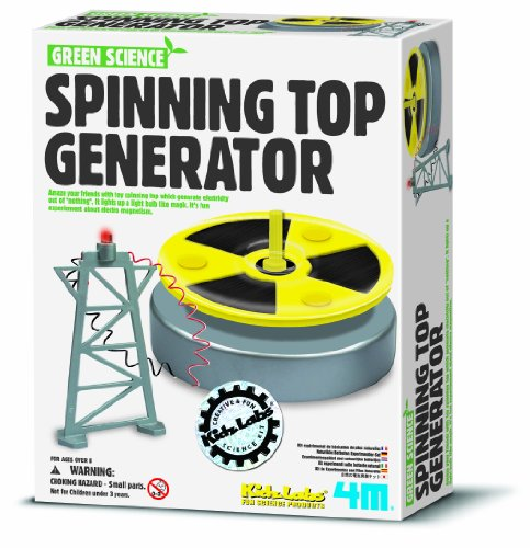 Toysmith Green Science Spinning Generator