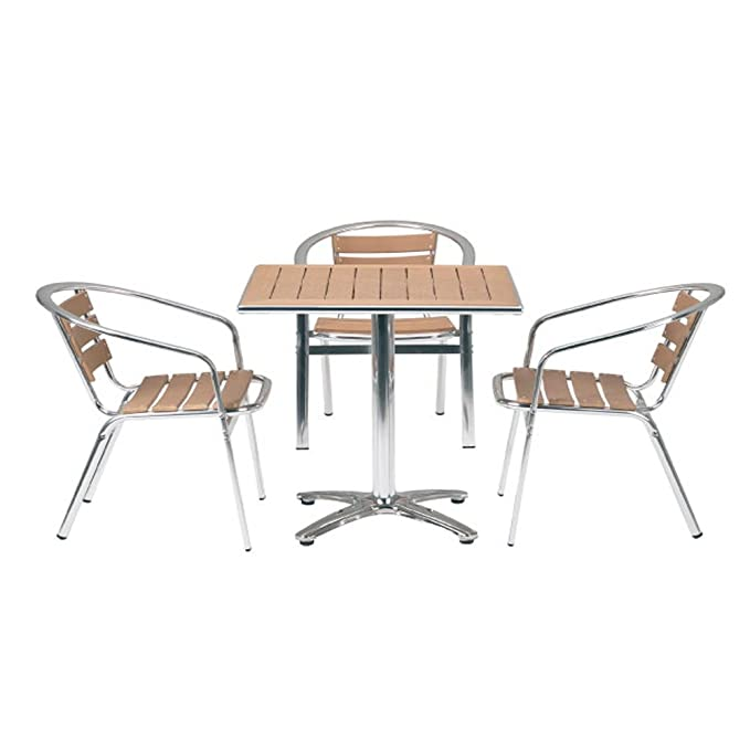 Paulo café mesas sillas/restaurante restaurante - sintética ...