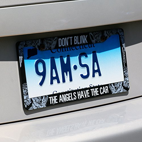 save - Doctor Who License Plate Frame