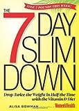 The 7-Day Slim Down, Alisa Bowman and Women's Health Editors, 1609618467