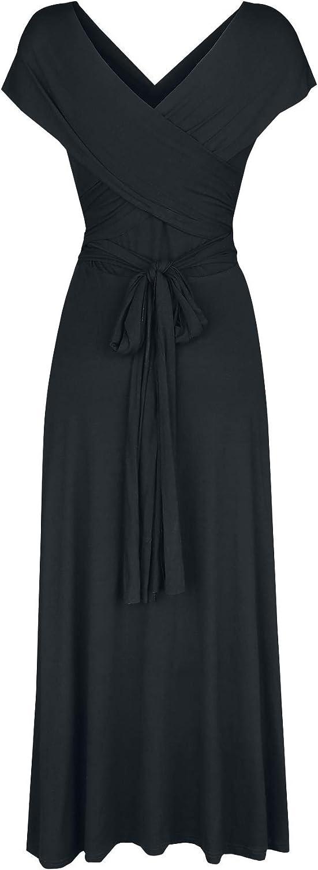 Black Premium By Emp Endless Forms Most Beautiful Femme Robe Mi-longue Noir, Noir