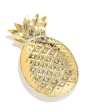 Fashionest Label PINEAPPLE TRINKET DISH - Jewelry Dish Gleams with a Gilded Finish - Made from (Butterfly Jewelry Dish)