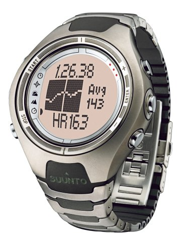 SUUNTO X6HRT Heart Rate Wrist-Top Computer Watch with Altimeter, Barometer, Compass, and PC-Interface