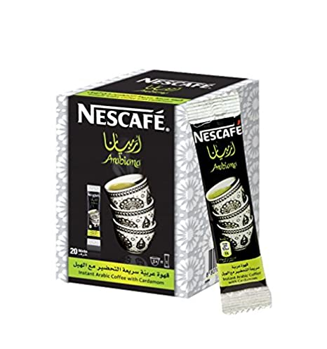 Instant Nescafe Arabiana - Mezcla de café arábigo con sabor ...