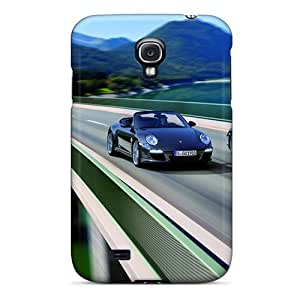 Ultra Slim Fit Hard Evanhappy42 Cases Covers Specially Made For Galaxy S4- Black Porsche 911 Black Edition