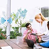 【Upgrade Version】 WAVLINK-WN570HA1-AC600 Access Point Dual Band 2.4+5G 600Mbps 3 in 1 Outdoor Wireless AP/Router/Repeater WiFi Blast Range Extender Internet Signal Booster Amplifier in PoE & 802.11AC