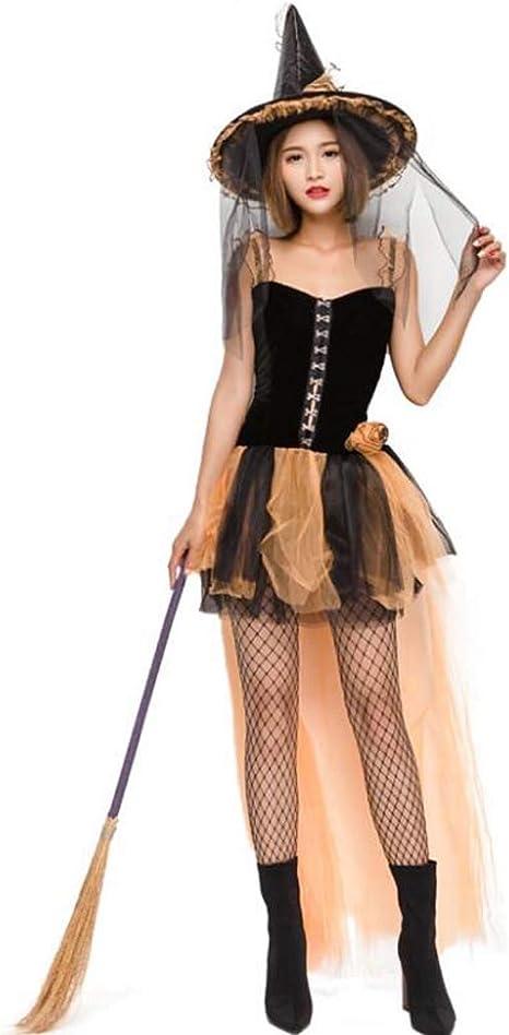 MSSugar Disfraz de Bruja para Mujer Noche de Halloween Alma ...