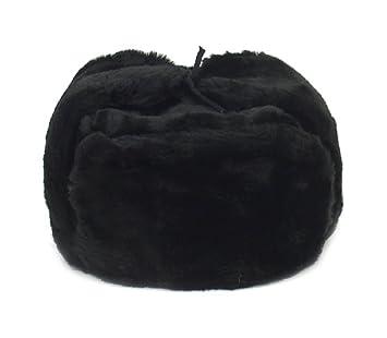 Russian Winter Hat  Shapka-Ushanka BLACK Size S (metric 56)  Amazon.ca   Sports   Outdoors 9b2d9a037fda