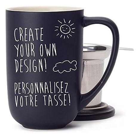 Amazoncom Davidstea Customizable Nordic Mug Kit With Loose Leaf