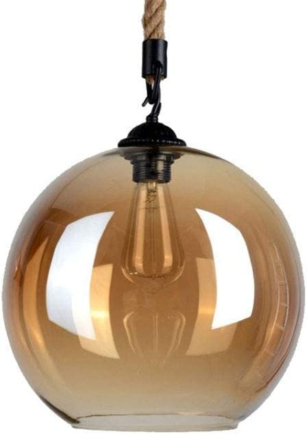 Warehouse Barn Loft Light Amber Glass